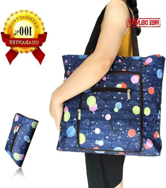 foldable extra large 66lbs reusable grocery bags