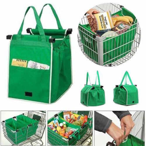 foldable shopping bags reusable eco grocery grab