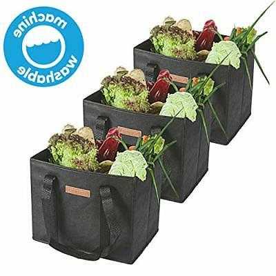 HousWork Reusable-Waterproof-Washable-Grocery-Shopping-Bags