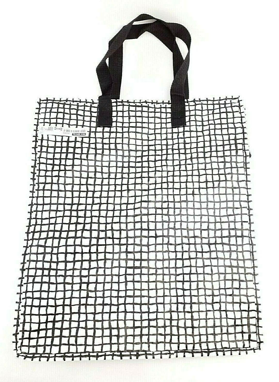 IKEA Knalla Zip Bag White Tote Reusable capacity