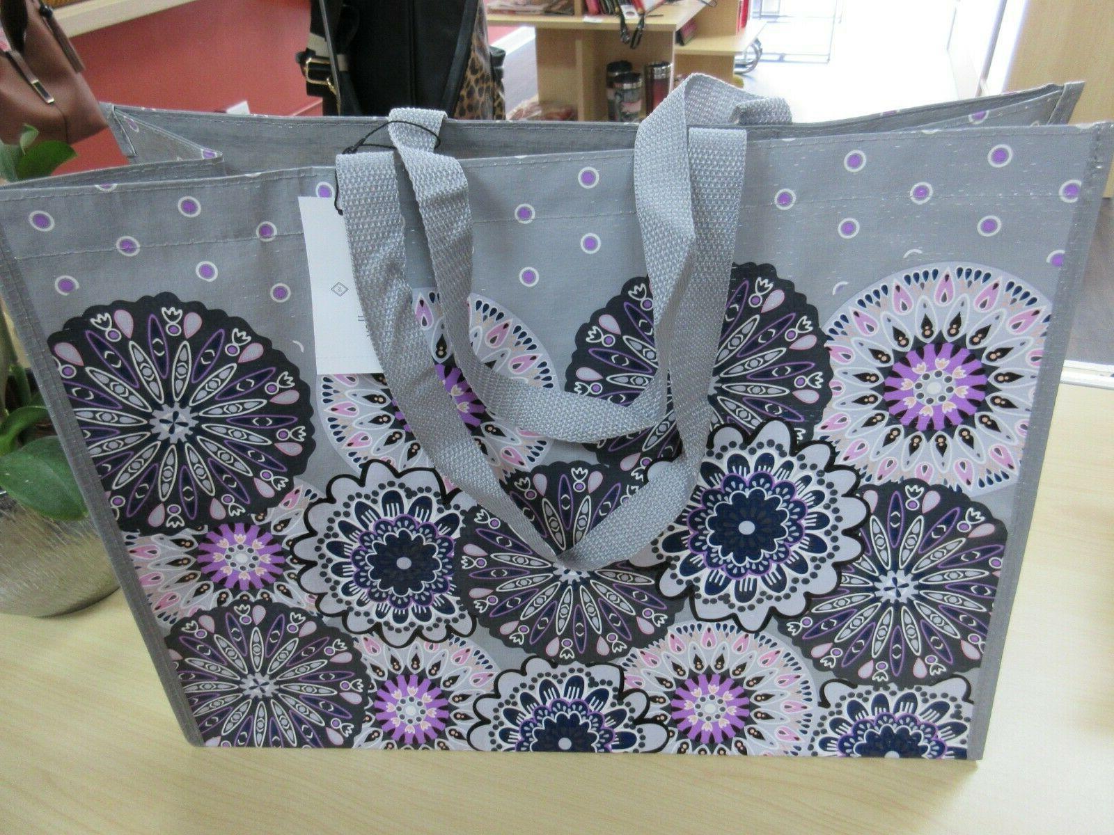 market tote reusable bag mimosa medallion print