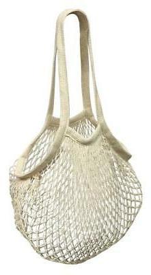 Net Shopping Bag 100% Cotton Reusable Bag for Groceries Prod