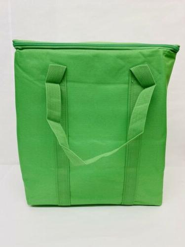 new 4 pack reusable insulated grocery bags