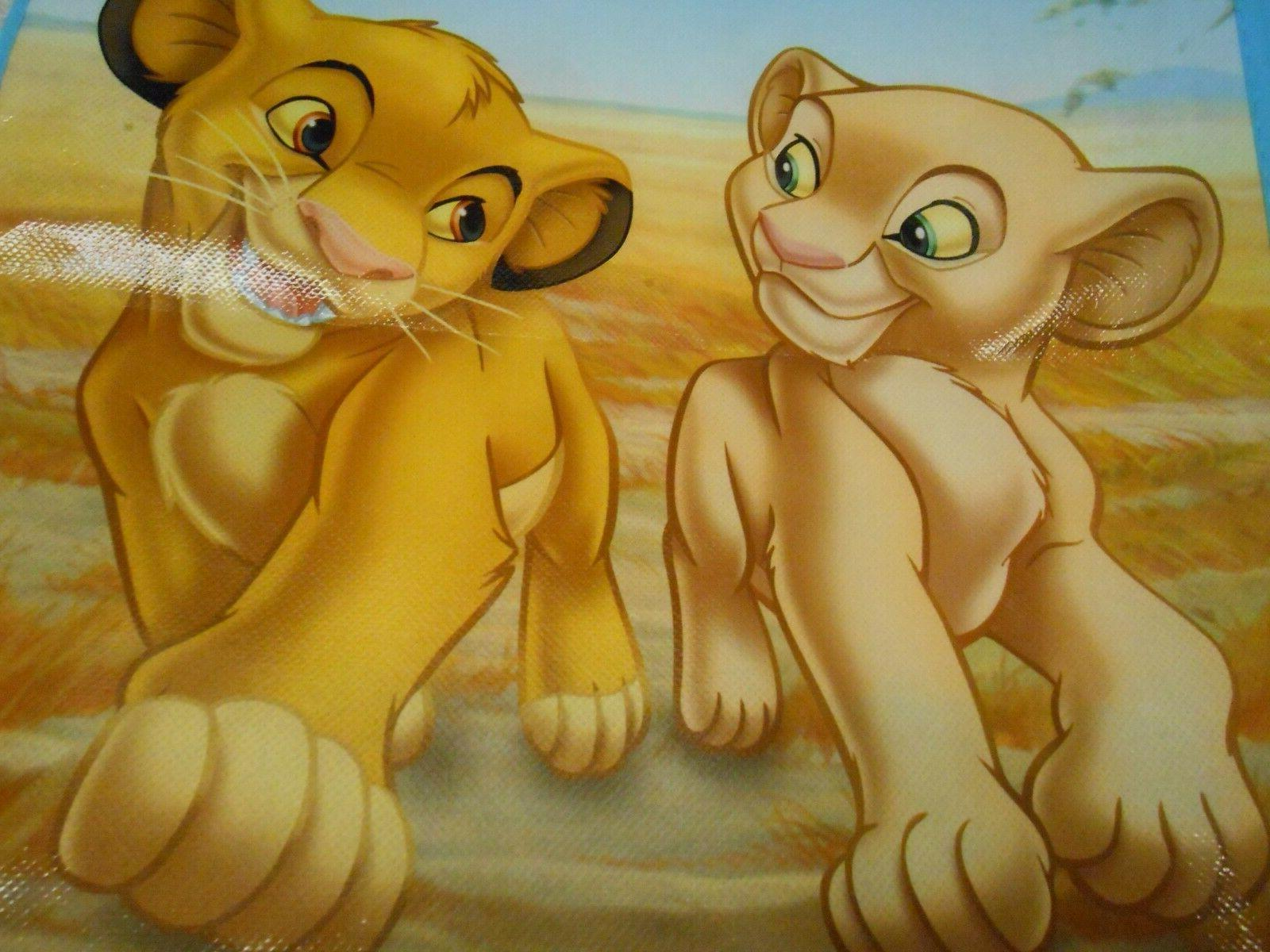 New The Lion King reusable shopping grocery tote
