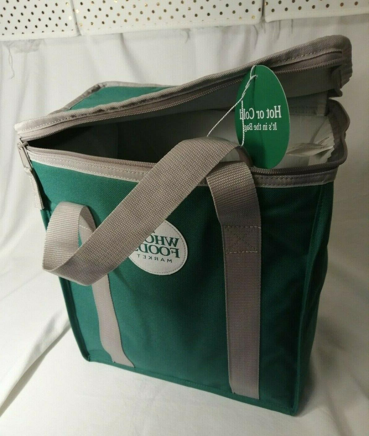 NWT Reusable Insulated Cooler Shopping Bag