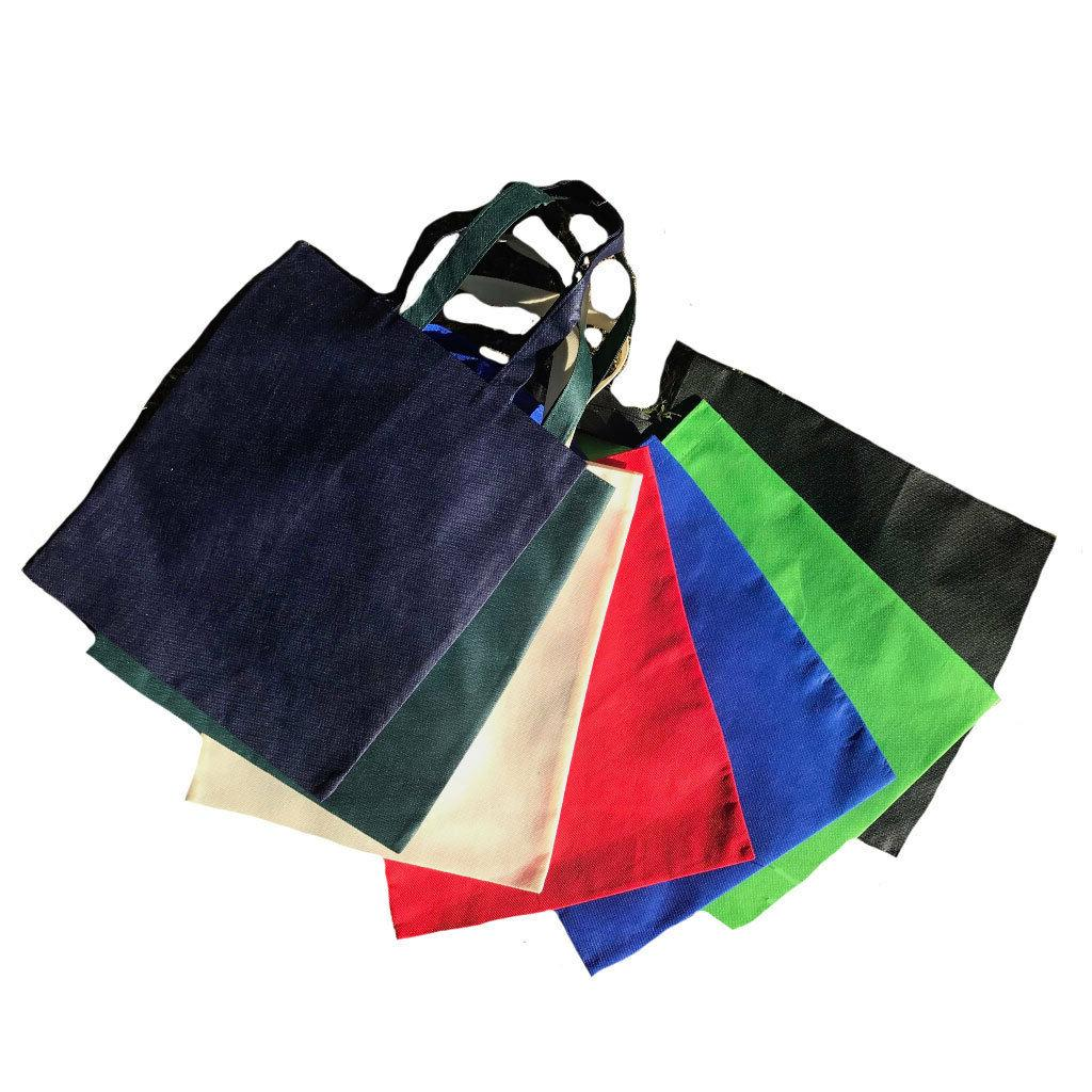 Plain Reusable Grocery Totes Eco Friendly 15""