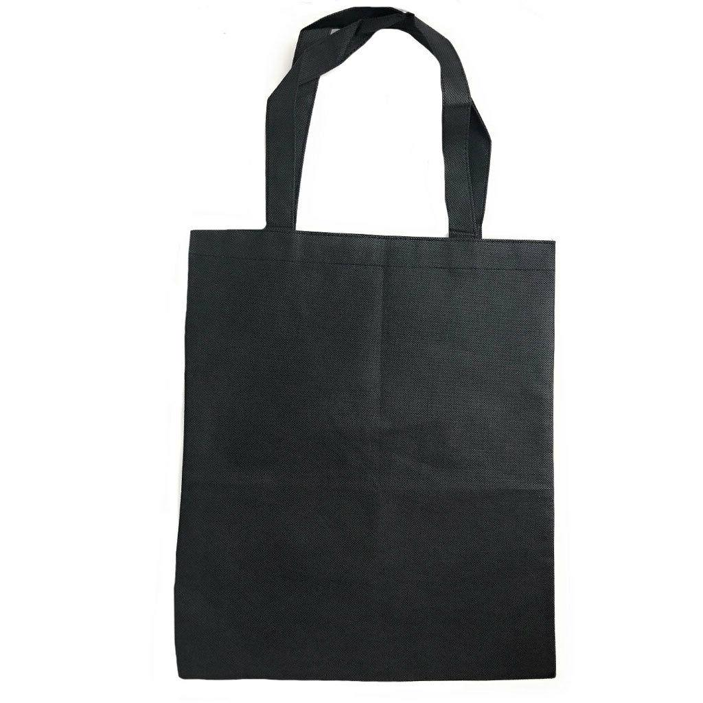 Plain Reusable Shopping Totes Recycled Eco 15""