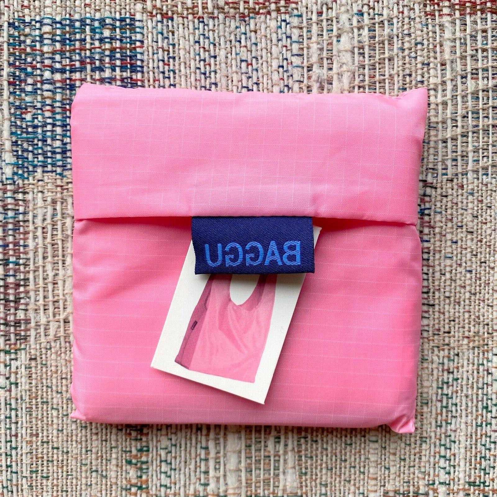 reusable bag solid pink rare color print