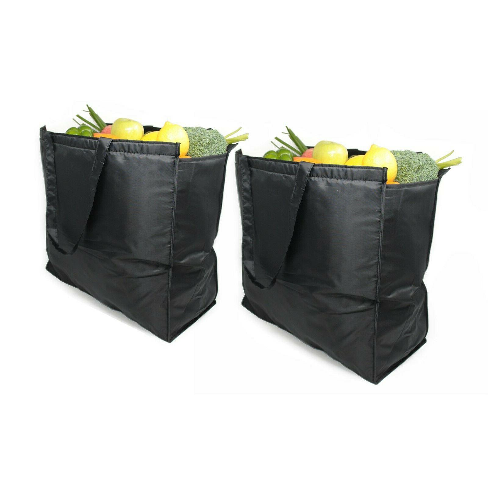 reusable extra large insulated cooler grocery bag