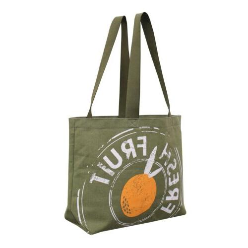Reusable Grocery Bag Tote Large Duty 12 Canvas