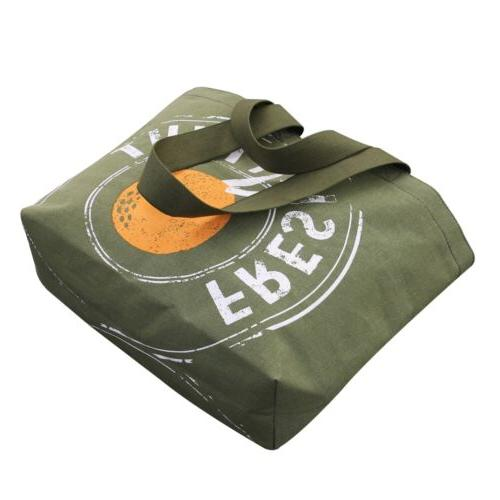 Reusable Grocery Tote Duty Canvas
