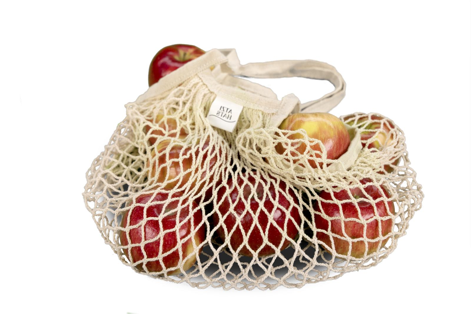 Reusable Grocery Bags Net Mesh Eco-Friendly Pack for Tote
