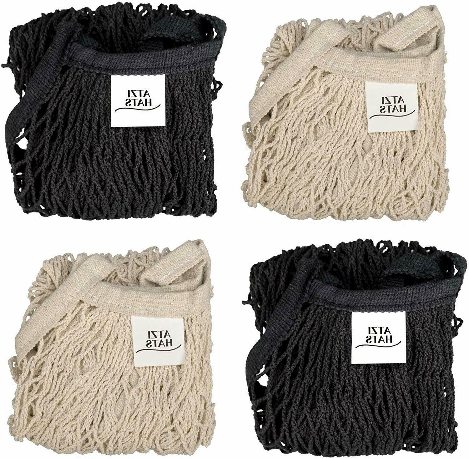Reusable Bags Net Mesh Pack Gifts Mom