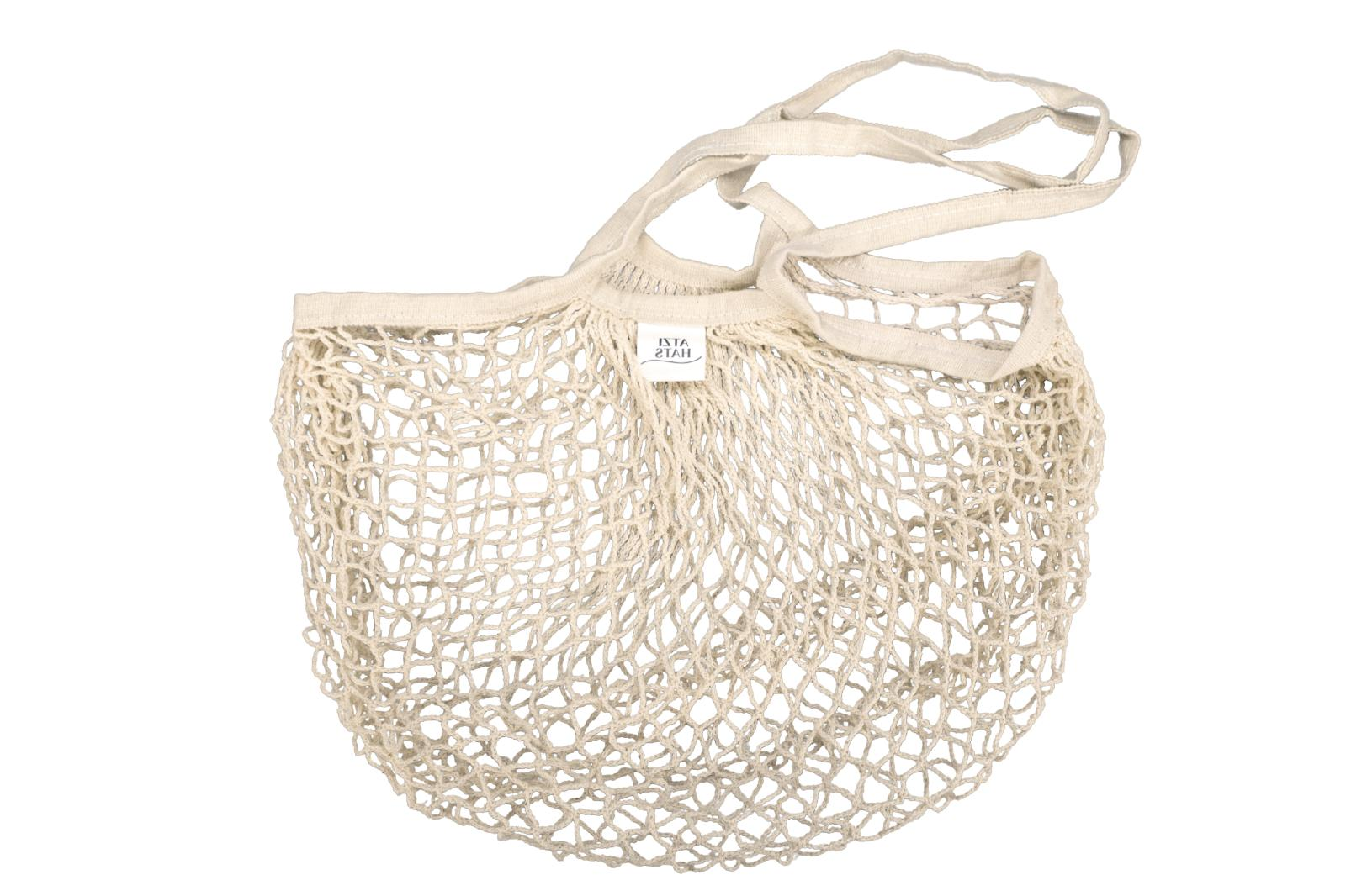 Reusable Bags Cotton Net Mesh Pack Gifts for Mom