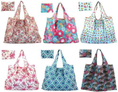reusable grocery bags large foldable tote bag