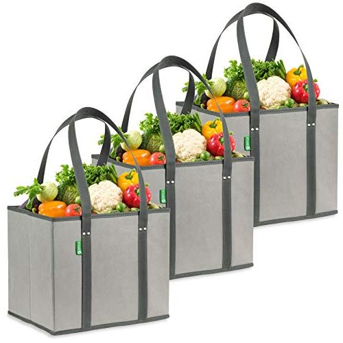reusable grocery shopping bags heavy
