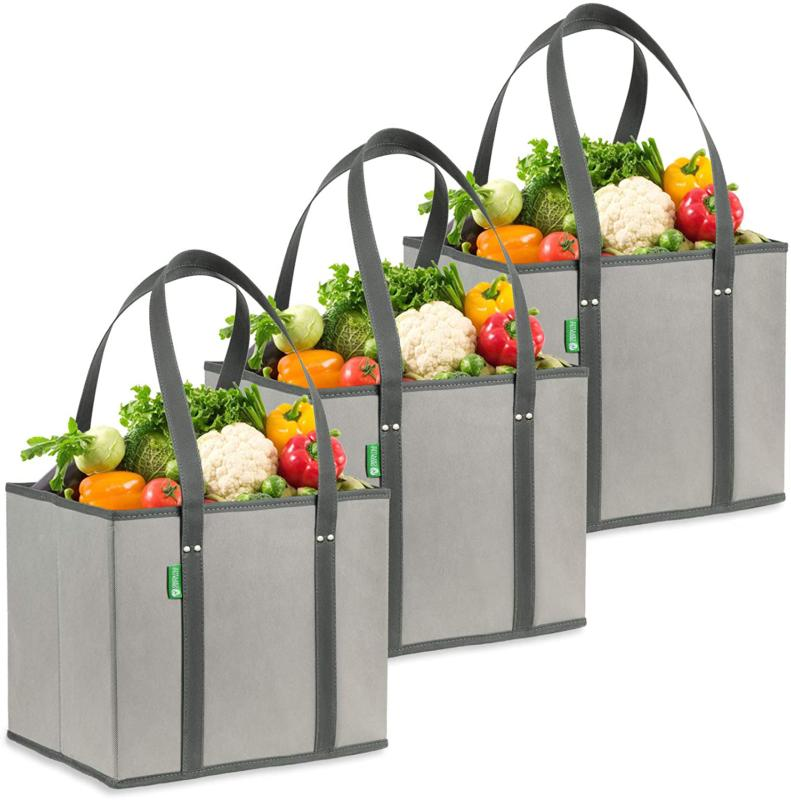 reusable grocery shopping box bags premium quality