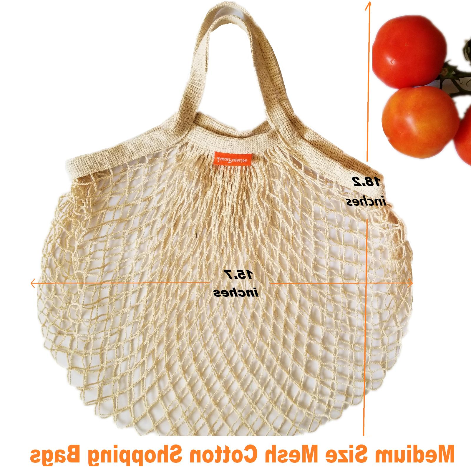 Reusable Mesh Bags Cotton Bags Shopping Bags