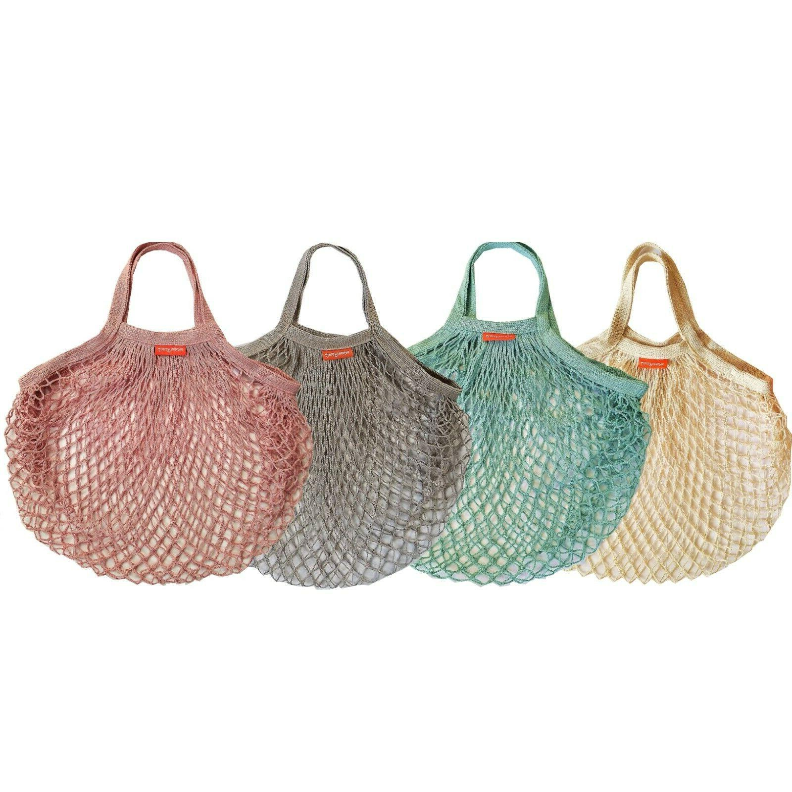Reusable Mesh Cotton Bags Shopping