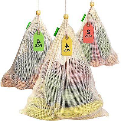 reusable produce bags grocery reusable set of
