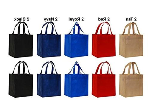 reusable shopping grocery tote bags