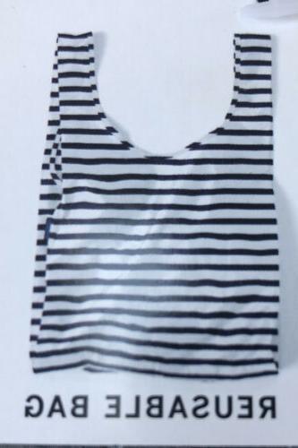 standard reusable bag red stripe rare print