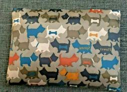 Large Dog Print Reusable Fabric Travel Grocery Shopping Fold