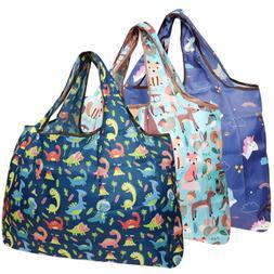 large foldable tote nylon reusable grocery bag
