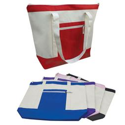 Large Reusable Grocery Shopping Tote Bags With Wide Gusset T
