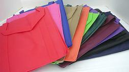 Large Size Reusable GROCERY BAGS - VARIETY OF COLORS - Recyc