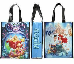 Disney LITTLE MERMAID Movie Poster Small Shopper Tote Reusab