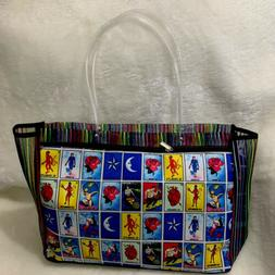 Loteria Shopping Market Mexican Bag. Mesh Large Reusable Tot