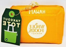 Whole Foods Market Hawaii Reusable Washable Tote Bag Grocery