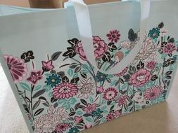 Vera Bradley Market Tote Reusable Bag Penelope's Garden Prin
