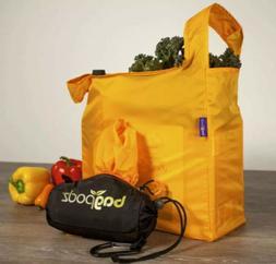 BagPodz Multicolor Set - 5 Reusable Grocery Bags  & Storage