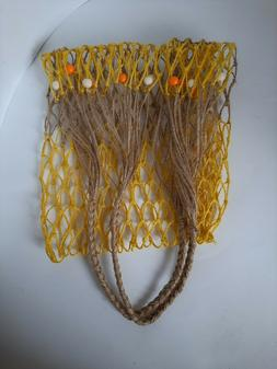 Net bag Handmade market bag Tote bag Gift for her Eco friend