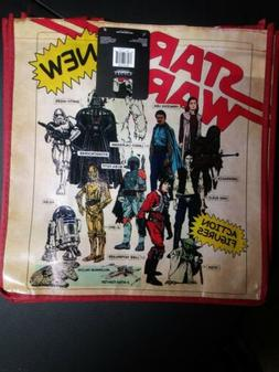 New Star Wars Action Figures Big  Tote Reusable Grocery Shop