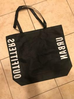 NEW Urban Outfitters Black Bag Tote Reusable Grocery Shoppin