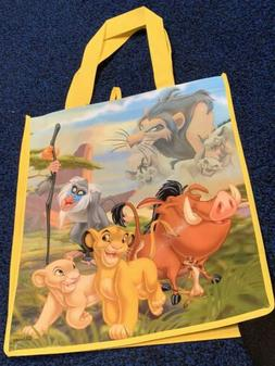 New Disney The Lion King reusable shopping grocery tote bag