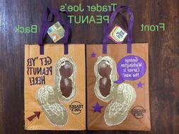 **NEW ITEM**  1 Trader Joe's PEANUT Reusable Grocery Bag - N