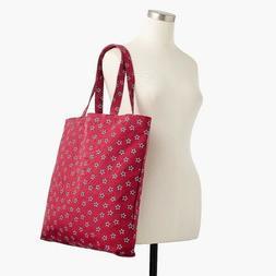 NEW J Crew Cotton Canvas Market Book Shopping Tote Bag Camo