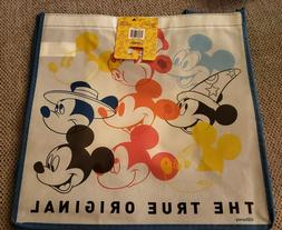 New Legacy Disney Mickey Mouse Shopper Tote Reusable Grocery