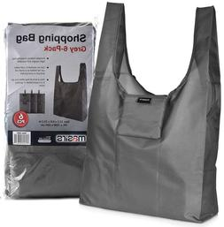 NEW Reusable Shopping Grocery Bags, 6 PACK Eco Large Heavy D