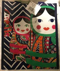 New Vera Bradley Venitian Paisley Russian Doll Small Market