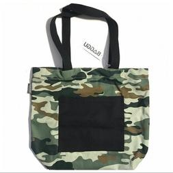 NEW WEST ELM BAGGU Canvas Reusable Shopping Book Tote Travel