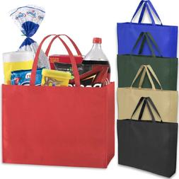 NEW Wholesale Reusable Grocery Tote Bags Woven Case Pack of