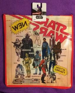 OFFICIAL Star Wars ACTION FIGURE Reusable GROCERY TOTE BAG L
