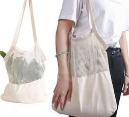 Organic Shopping Produce Bag Reusable Grocery Vegetable Frui