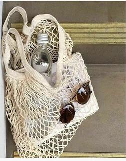 Reusable Eco Friendly Shopping Mesh Bag Grocery Net Handbag