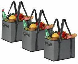 Reusable Grocery Bags Box  Reinforced Bottom Heavy Duty Coll